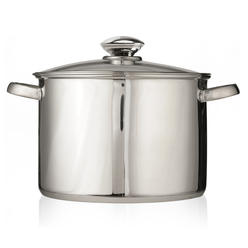 Pure Intentions 16 Qt Stock Pot - Stainless Steel at Kmart.com