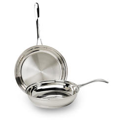 Pure Intentions 2PC Stailess Steel Fry Pan Set at Kmart.com