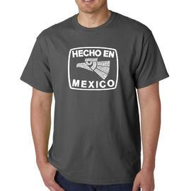 Los Angeles Pop Art Men's Word Art T-Shirt - Hecho En Mexico at Kmart.com