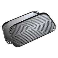 Kitchen Extras Double Burner Grill/Griddle - Black at Kmart.com