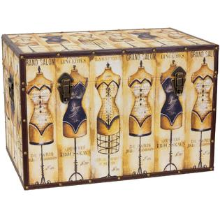 oriental furniture mannequin storage trunk - Decorative Storage Trunks