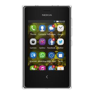 Nokia Asha 503 Unlocked GSM Cell Phone - Black