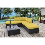 Bellini Home and Gardens Wildon 6 Pc. Corner Sectional Set / Fabric: Canvas Wheat at Kmart.com