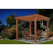 New England Arbors Lakewood 6.5' x 6..5' Composite Pergola at Sears.com