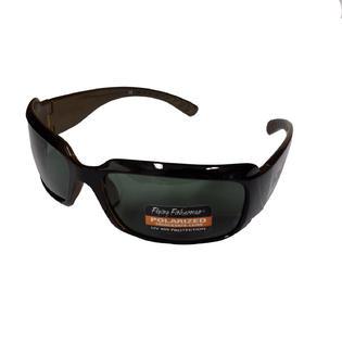 Flying Fisherman Fly Fish La Palma Sunglasses Black Brown/Smoke