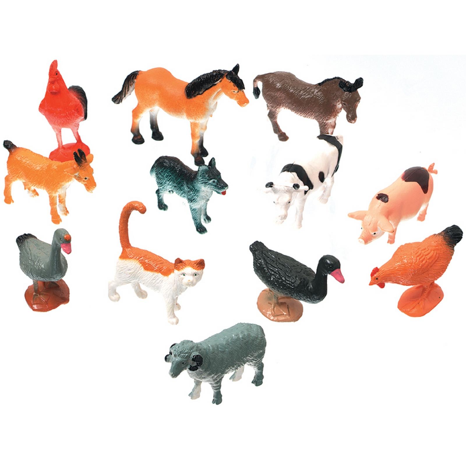 Creatures Inc. Farm Animals 12/Pkg PartNumber: 021V005613480000P KsnValue: 5613480 MfgPartNumber: 1029-08