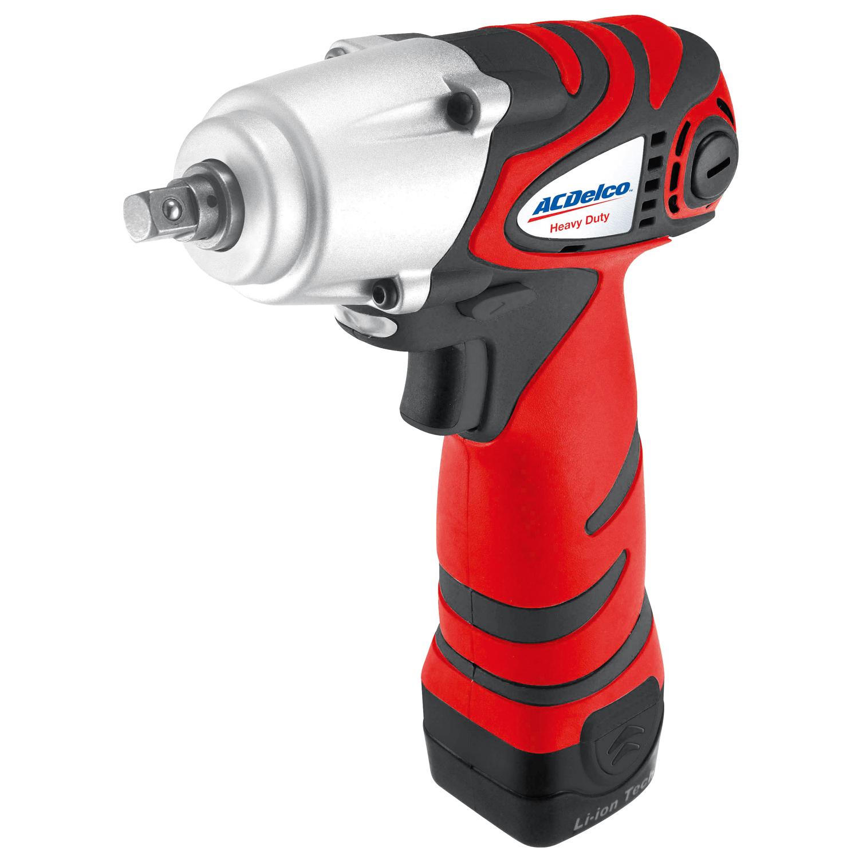 "ACDelco Tools Power Tool - ARI1258-3 Li-ion 12V 3/8"" Impact Wrench KIT"