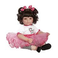 "Adora Dolls Adora Zippy Zebra Dark Brown Hair with Brown Eyes 20"" Baby Doll at Sears.com"