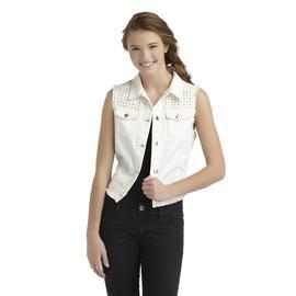 Dream Out Loud by Selena Gomez Junior's Studded Denim Vest at Kmart.com