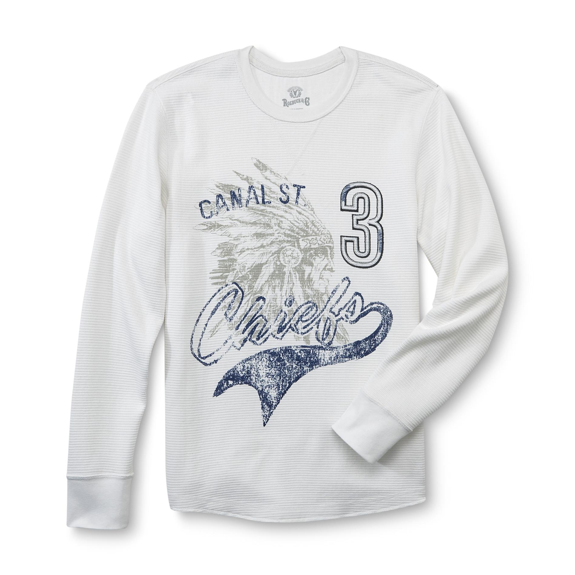 Roebuck & Co. Young Men's Thermal T-Shirt - Canal St. Chiefs