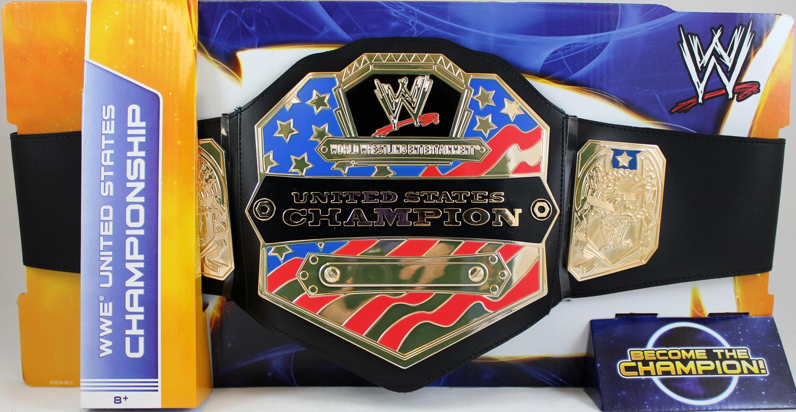 WWE United States - Mattel Championship Toy Wrestling Belt PartNumber: 05228218000P KsnValue: 05228218000 MfgPartNumber: MBELT-008