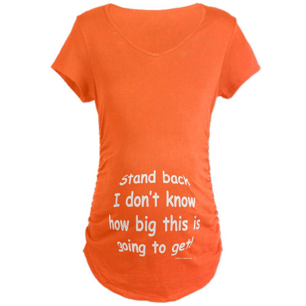CafePress Maternity Big Baby  Dark TopT-Shirt at Kmart.com
