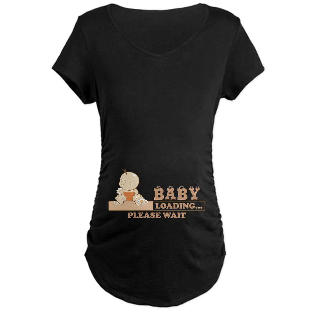 CafePress Maternity Baby Loading T-Shirt at Kmart.com