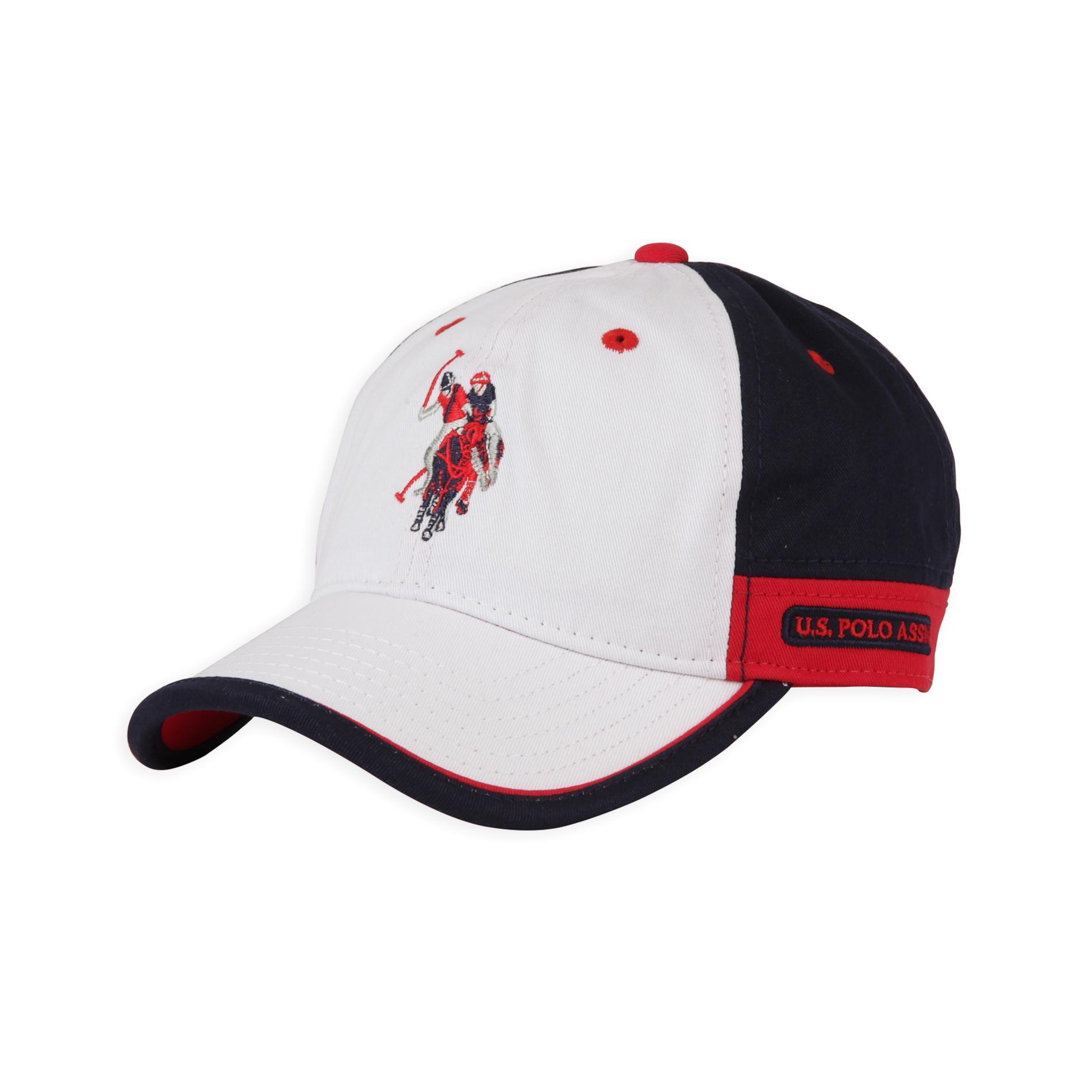 U.S. Polo Assn. Men s Polo Baseball Hat - Large Horse Logo 5b907a637e3