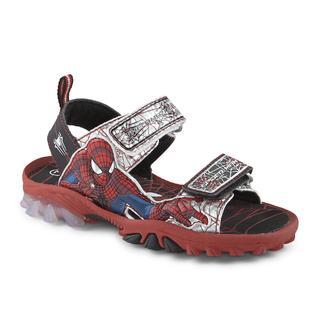 Marvel Comics Toddler Boy's Spider-Man Red/Black/Gray Sport Sandal