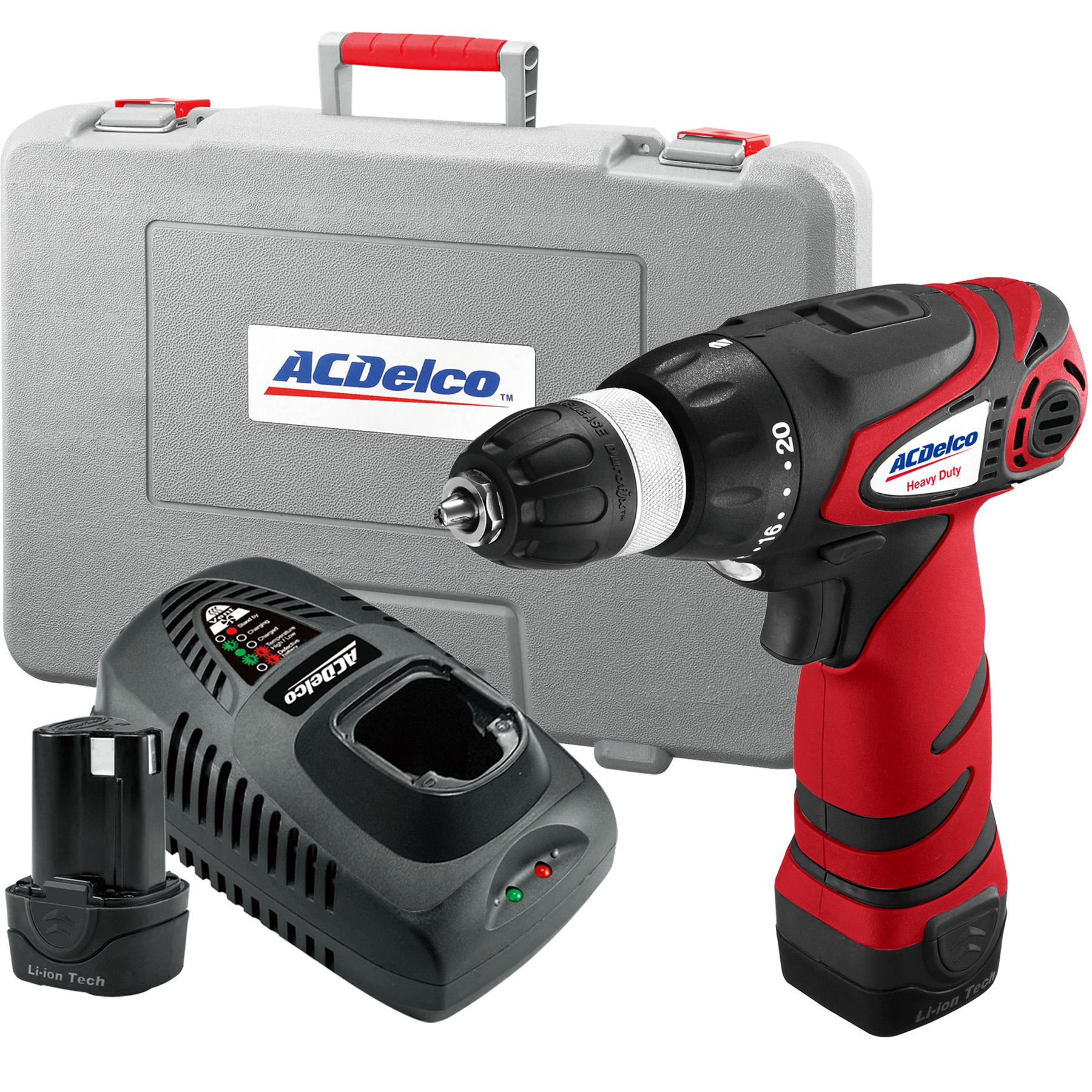 "ACDelco Tools Power Tool - ARD1296 Li-ion 12V 3/8"" Drill"