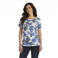 Laura Scott Women's Short-Sleeve T-Shirt - Floral Print at Sears.com