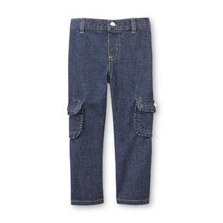 Toughskins Infant & Toddler Girl's Embellished Cargo Pants