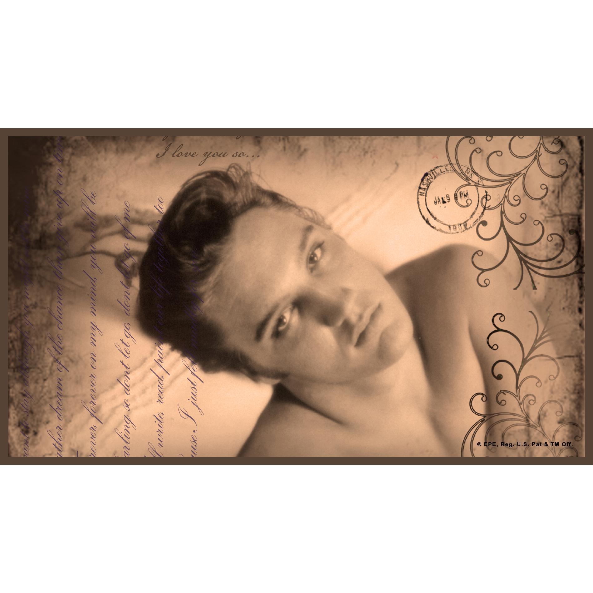 Legends Home Bedding Elvis Presley 10 Always On My Mind Pillow Shams - King