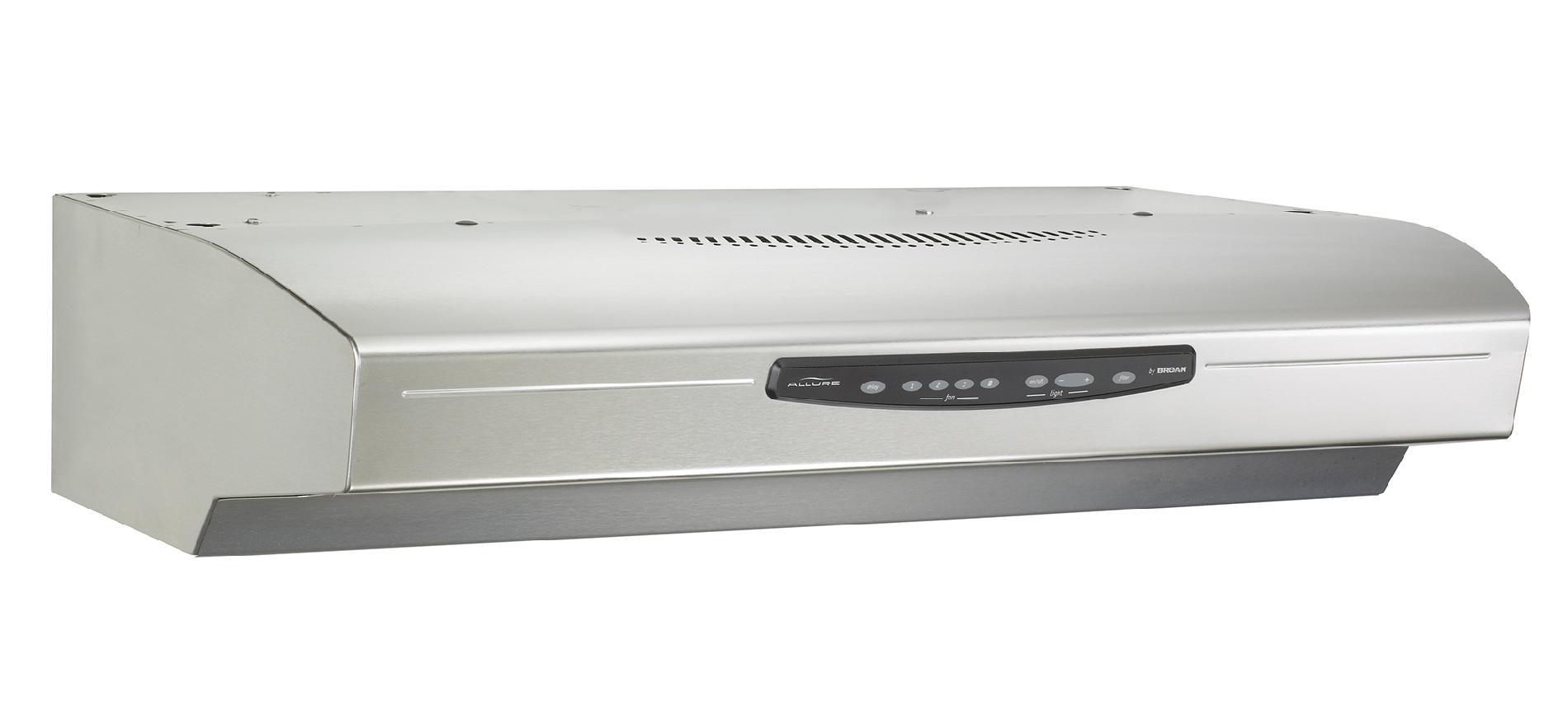 "Broan QS342SS 42"" 430 CFM Under Cabinet Range Hood - Stainless Steel"
