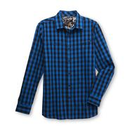 Amplify Young Men's Button-Front Shirt - Gingham at Sears.com