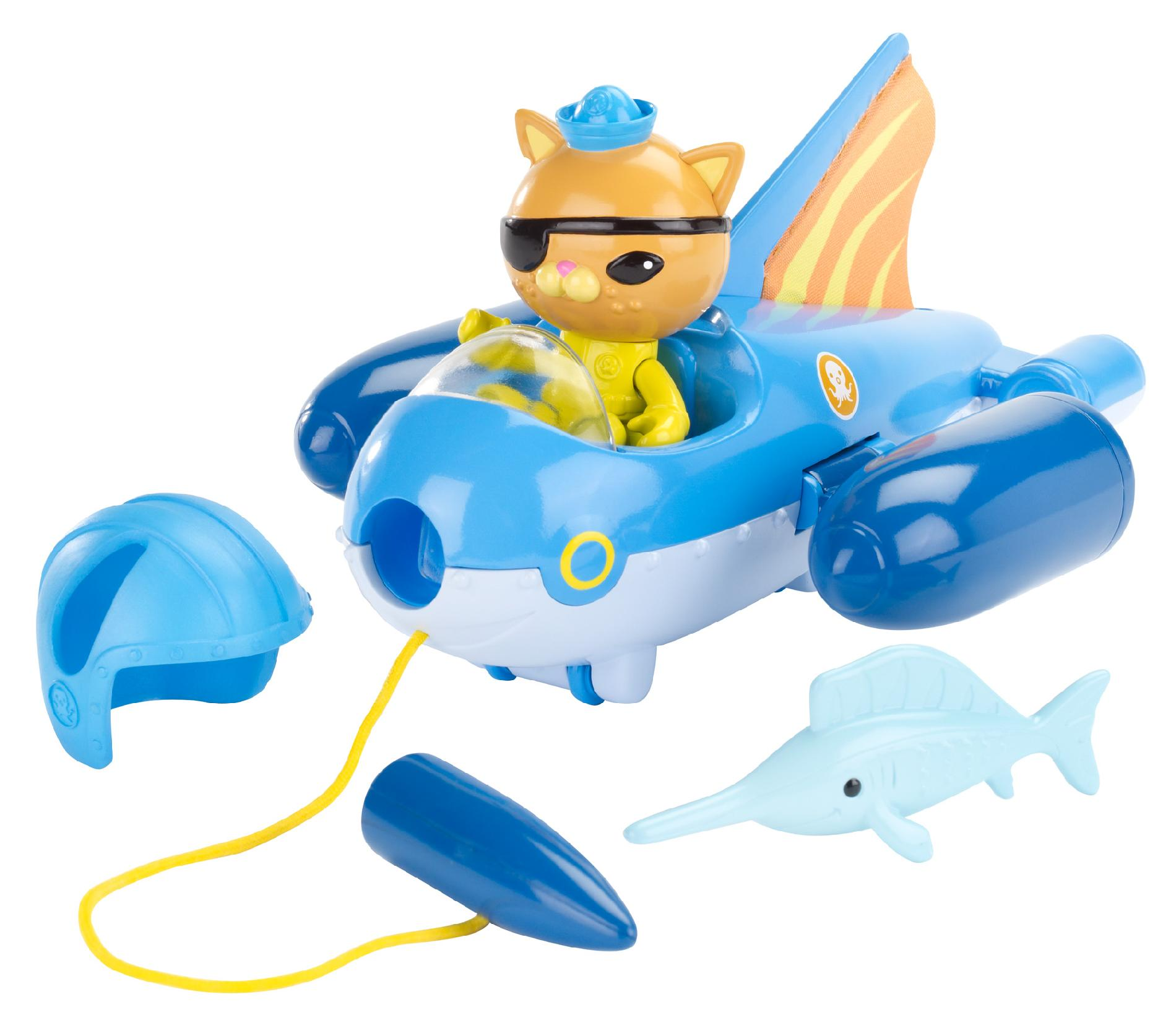 Disney Octonauts Gup Vehicle Gup-E and Kwazii - Toys & Games - Action Figures & Accessories ...