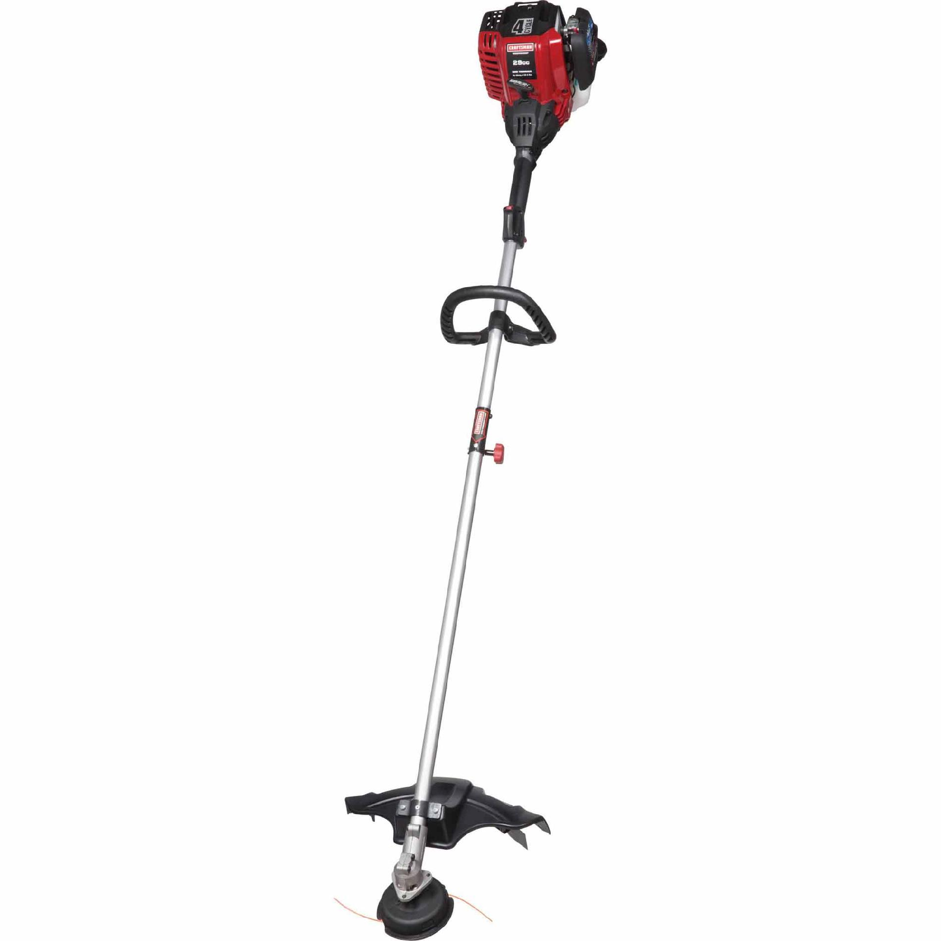 29cc 4-Cycle Straight Shaft Weedwacker Gas Trimmer