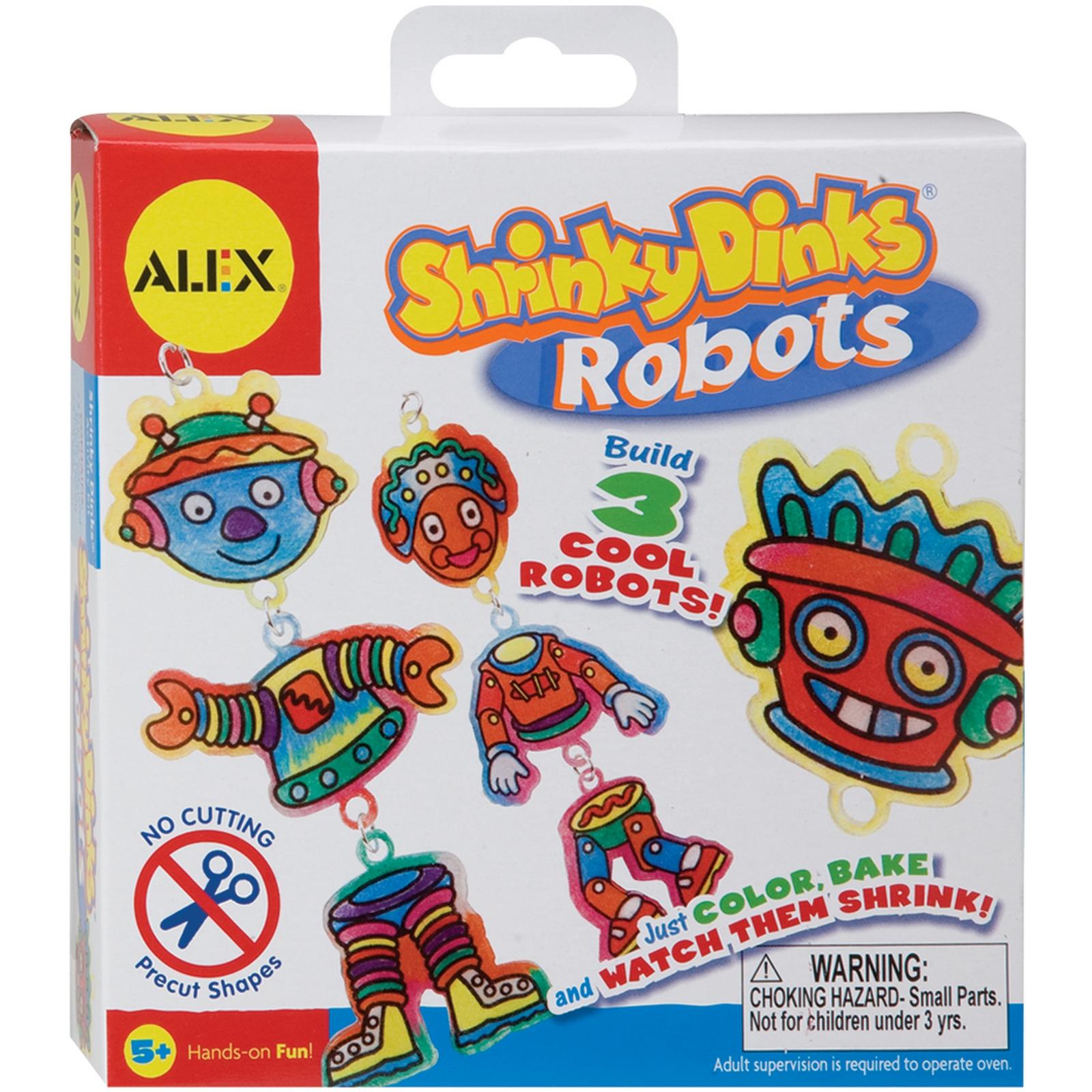 Alex Toys Shrinky Dink Kits-Robots PartNumber: 021V001585606000P KsnValue: 1585606 MfgPartNumber: 493-R