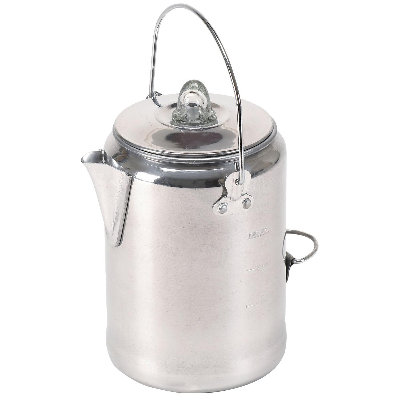 Texsport 13180 9 Cup Percolator Coffee Maker, Aluminum PartNumber: 00671385000P