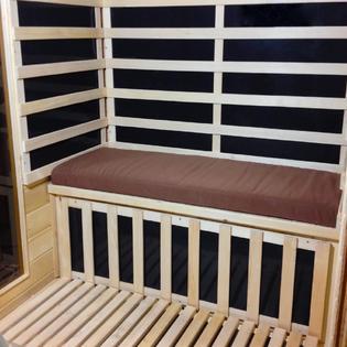 Radiant Sauna™ Radiant Sauna™ Seat Cushion for 2-person Sauna - Brown