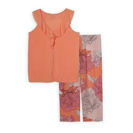 Jaclyn Smith Women's Pajama Tank Top & Capri Pants - Floral at Kmart.com