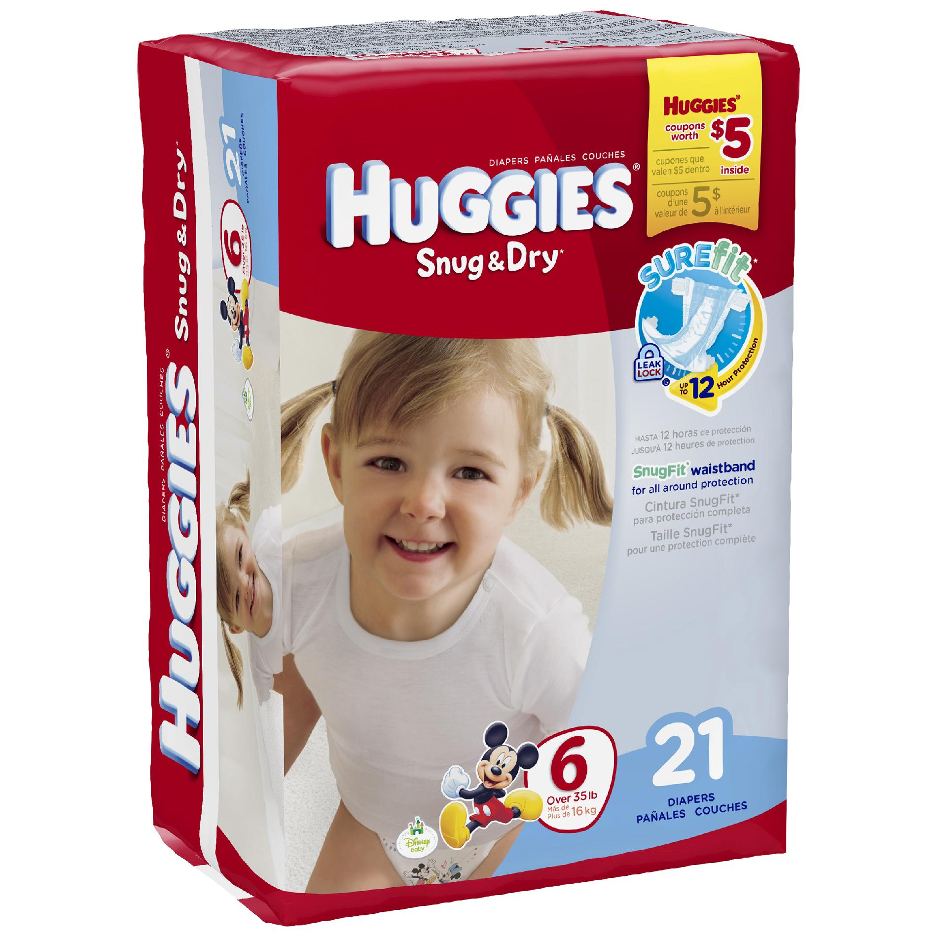Huggies Snug & Dry Diapers (see all sizes)