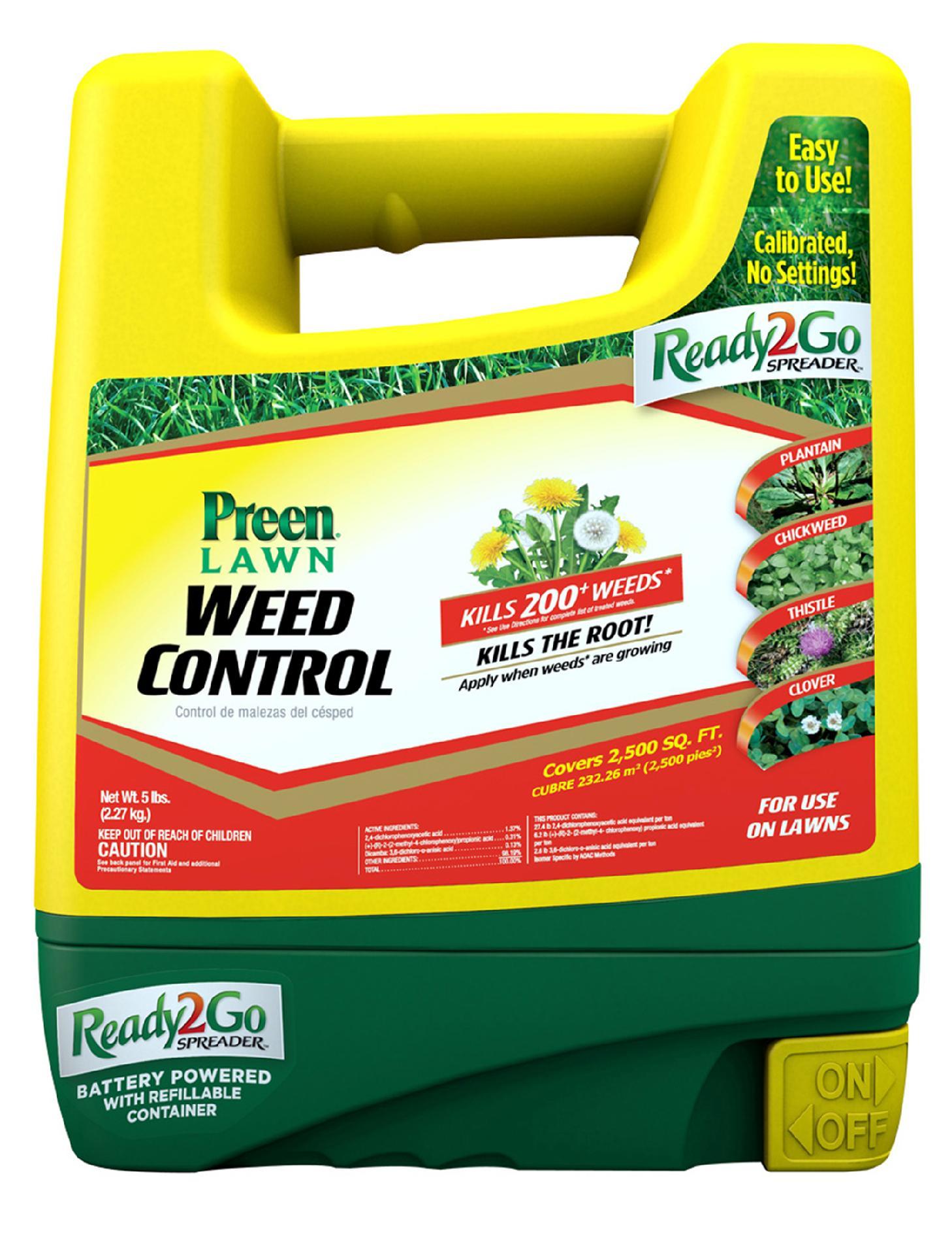 Preen 5 lb. Lawn Weed Control Ready2Go Spreader