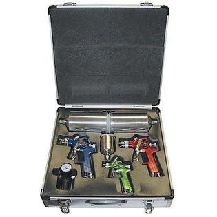 Titan tools vaper™ 4-piece hvlp spray gun comb set.