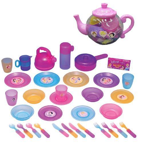 Disney Princess Big Teapot Dish Set PartNumber: 004W066889811812P KsnValue: 004W066889811812 MfgPartNumber: 122807