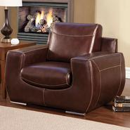 Venetian Worldwide TEKIR Dark Chocolate Bonded Leather Chair at Sears.com