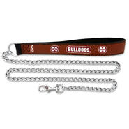 Mississippi State Bulldogs Football Leather 3.5mm Chain Leash at Kmart.com