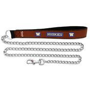 Washington Huskies Football Leather Chain Leash at Kmart.com