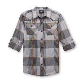 SK2 Boy's Western Woven Shirt - Skull & Cross at Kmart.com
