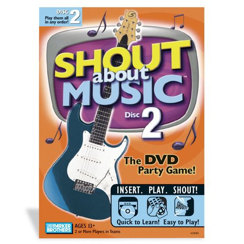 Milton Bradley Shout About Music Party Game Edition 2 (DVD) PartNumber: 004W053693222001P KsnValue: 004W053693222001 MfgPartNumber: 536370C