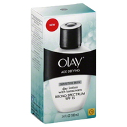 Olay Age Defying Day Lotion, with Sunscreen, Sensitive Skin, 3.4 fl oz (100 ml) at Kmart.com
