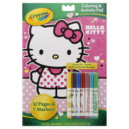 Crayola Coloring & Activity Pad, Hello Kitty, 1 set at Kmart.com