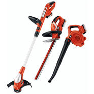 Black & Decker 20 V MAX* Lithium Ion Combo Kit - Trimmer, Sweeper, Hedge at Kmart.com