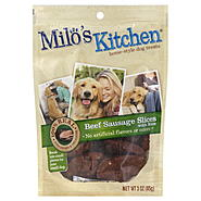 Milo's Kitchen Dog Treats, Home-Style, Beef Sausage Slices with Rice, 3 oz (85 g) at Kmart.com
