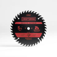 Craftsman 5 1/2IN-40T Carbide Blade at Craftsman.com