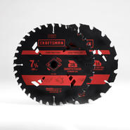 Craftsman 2 Pack 7 1/4 Inch  18T/40T Blades at Craftsman.com