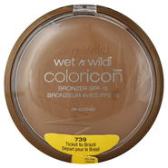 Wet N Wild Coloricon Bronzer, SPF 15, Ticket to Brazil 739, 0.46 oz (13 g) at Kmart.com