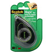 Scotch Tape, Magic, One-Handed Dispenser, 1 roll at Kmart.com