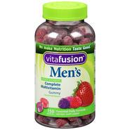 Vitafusion Men's Complete Multivitamin Gummy Dietary Supplement 150 CT BOTTLE at Kmart.com