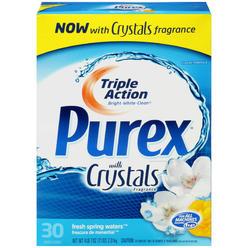 Purex Detergent, Triple Action, with Crystals Fragrance, Classic Formula, Fresh Spring Waters, 71 oz (4 lb 7 oz) 2.01 kg ... at Kmart.com